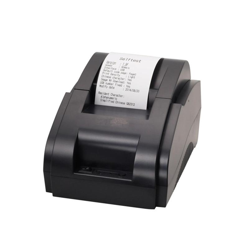 NEW 58IIH 58mm Mini Thermal Printer USB POS Receipt Printer Retail Store And Supermarket Printing Speed Fast