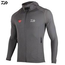 Куртка весна лето ветрозащитная рыболовная куртка ультра тонкая УФ-защита dawa, рыболовство одежда ветровка рыболовное пальто
