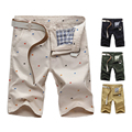 Hot Sell New Summer Casual Cotton Plus 4XL 5XL Men's Shorts Casual Shorts Youth Color Short Pants Fashion Beach Printed