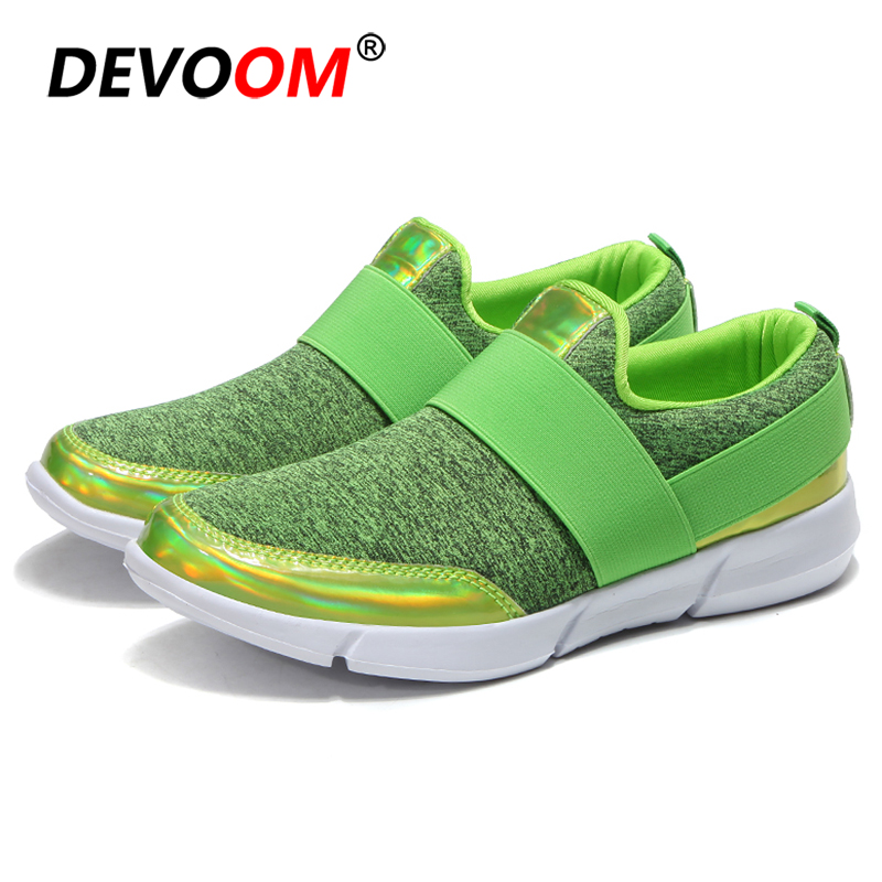 New 2019 Flat Shoes <font><b>Women</b></font> Spring Summer Slip on Shoes For <font><b>Women</b></font> Loafers Lightweight Nurse Shoes Ladies Walking Fashion Sneakers image
