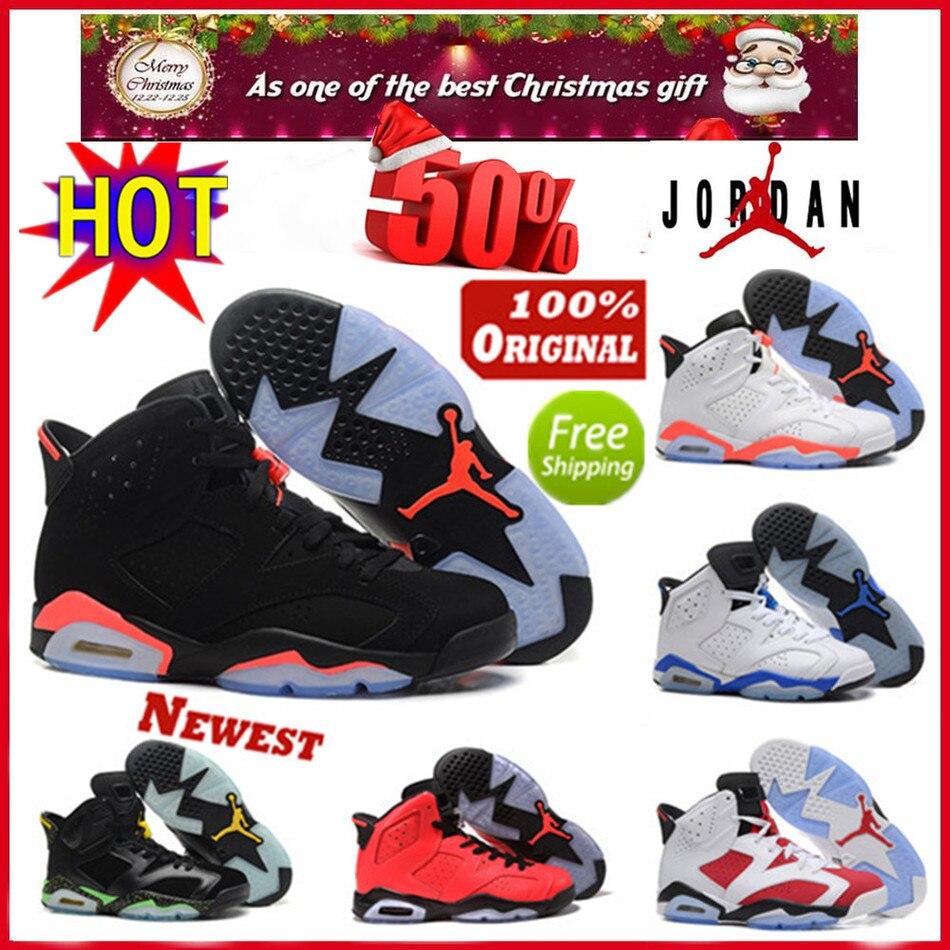 Free Shipping 100% original Jordan 7 6 retro men authentic shoes best  quality cheap for