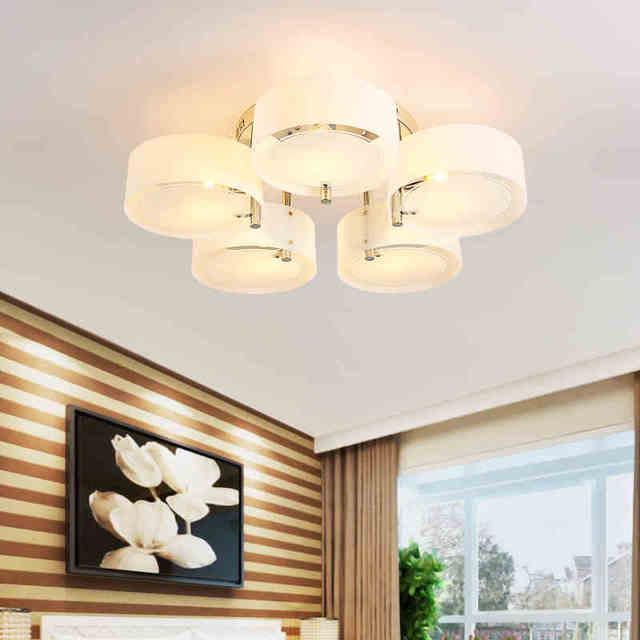 US $36.92 29% OFF|Moderne Led deckenleuchte Acryl Runde Kreis Decke Lampe  Für Küche Beleuchtung Lustre Home Beleuchtung Leuchte Leuchten in Moderne  ...