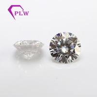 GH цвет 9 мм 3ct от желтовато бриллиантовой огранки VVS diamond сертификат Charles Colvard moissanite для колец сережек браслетов
