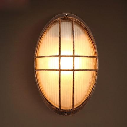 Loft Style Vintage Wall Lamp Creative Bar Led Light Metal Lights Coffee