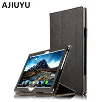 AJIUYU Case For Lenovo Tab 4 10 Leather Protective Protector Smart Cover Tab410 PU TB X304F