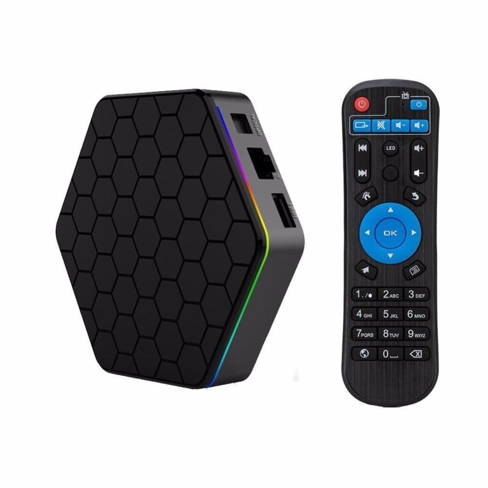 T95Z Plus 2GB 16GB 3GB 32GB Amlogic S912 Octa Core Android 7.1 OS Smart TV BOX 2.4G/5GHz WiFi BT4.0 4K pk x96 m8s pro tv box mx plus amlogic s905 smart tv box 4k android 5 1 1 quad core 1g 8g wifi dlna потокового tv box