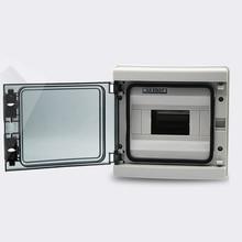 все цены на HA 8way  ip65 waterproof distribution box ABS Body and PC cover Lighting box 5-8 way mini circuit breaker box онлайн