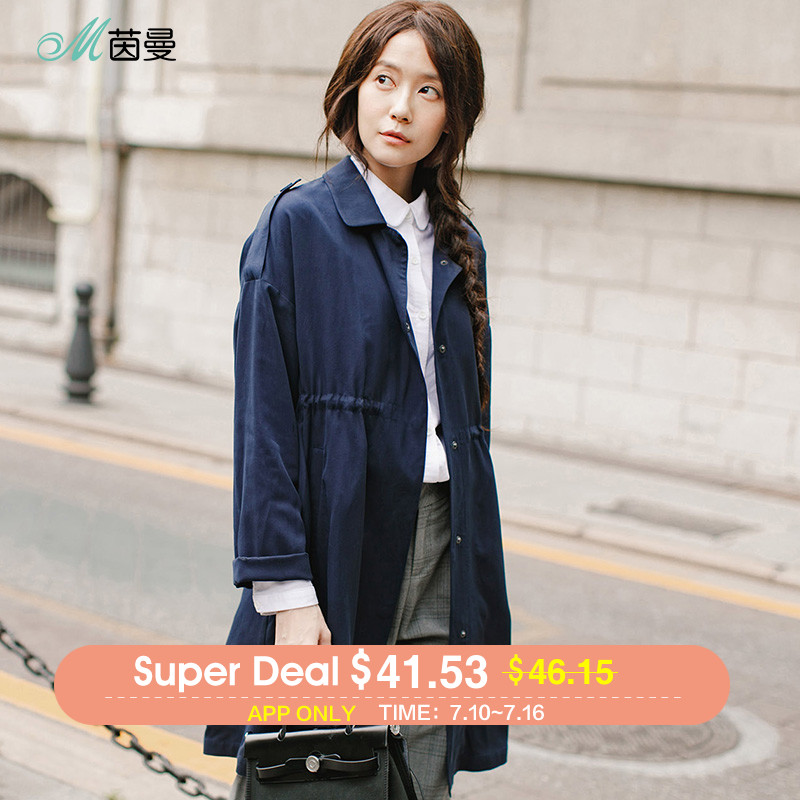 INMAN 2018 New Products Women Spring Loose Womens Coat Winter Female Winter Coats