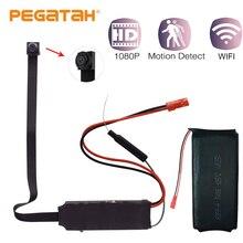 Новый 1080 P HD беспроводной мини WiFi Камера DIY модуль P2P IP Камера видео Регистраторы дистанционный пульт Поддержка камеры безопасности 128 г