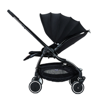 Fast shipping!AULON Baby stroller lightweight umbrella shock absorber folding can sit lie baby two way stroller