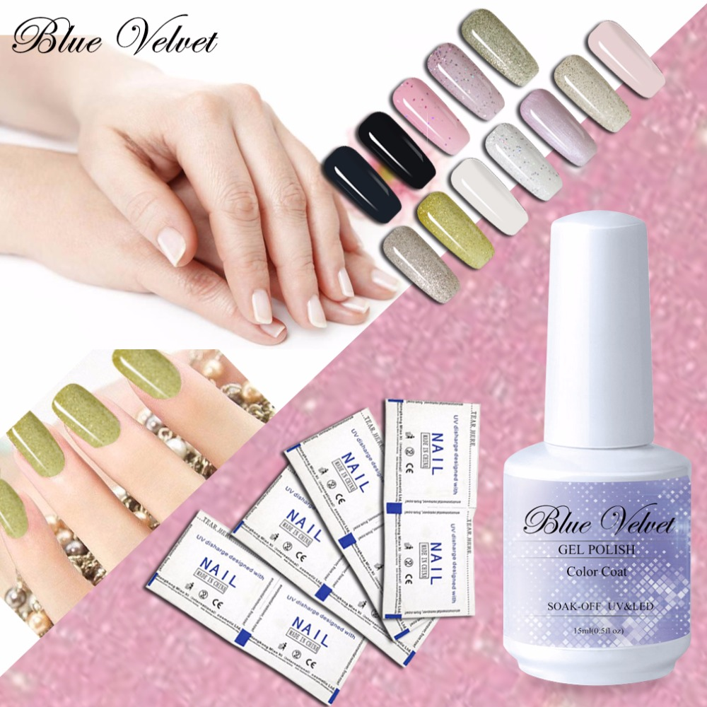 Blue Velvet Wholesale Any 8 Color Long Lasting Gel Nail