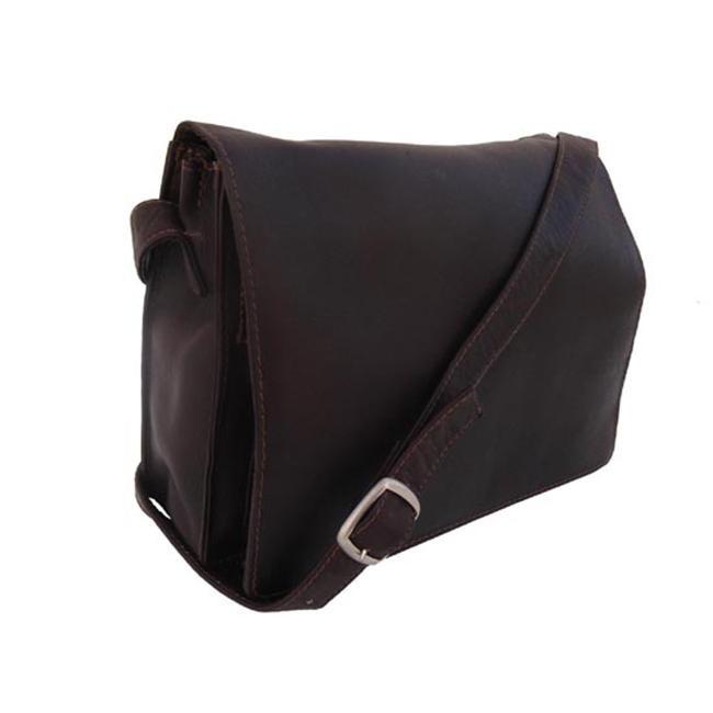 Piel 9032-CHC Chocolate Small Handbag with Organizer футболка yi lin 9032 la