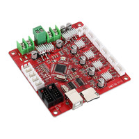 ANET V1.0 3D Printer Motherboard 12V LCD Control Board with USB Connector for A2 A6 A8 3D Desktop Printer LB88