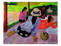 Beautiful Landscapes the siesta Paul Gauguin painting for sale High quality Hand painted