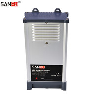 SANPU 350W 12V Regulated Power Supply Unit 30A LED Driver 220V AC to DC 12volt Lighting Transformer Rainproof for Outdoor LEDs