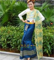 High Quality Thailand traditional clothing Long sleeve Thailand Receptionist uniforms RH33012