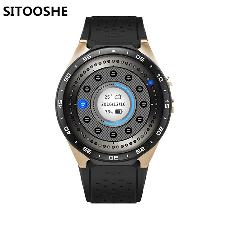 """KW88 Smart Watch Android 5.1 IOS 1.39"""" LED Screen RAM 512MB + ROM 4GB Smartwatch Support SIM Card GPS WiFi Call Reminder"""
