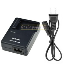 SBC-85A SBC85A Camera Battery Charger For Samsung BP85A 85A WB210 PL210 SH100 ST200 ST200F