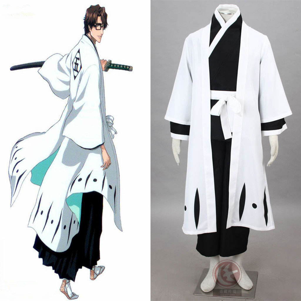 4nd Aizen Cosplay Costume From Bleach Anime