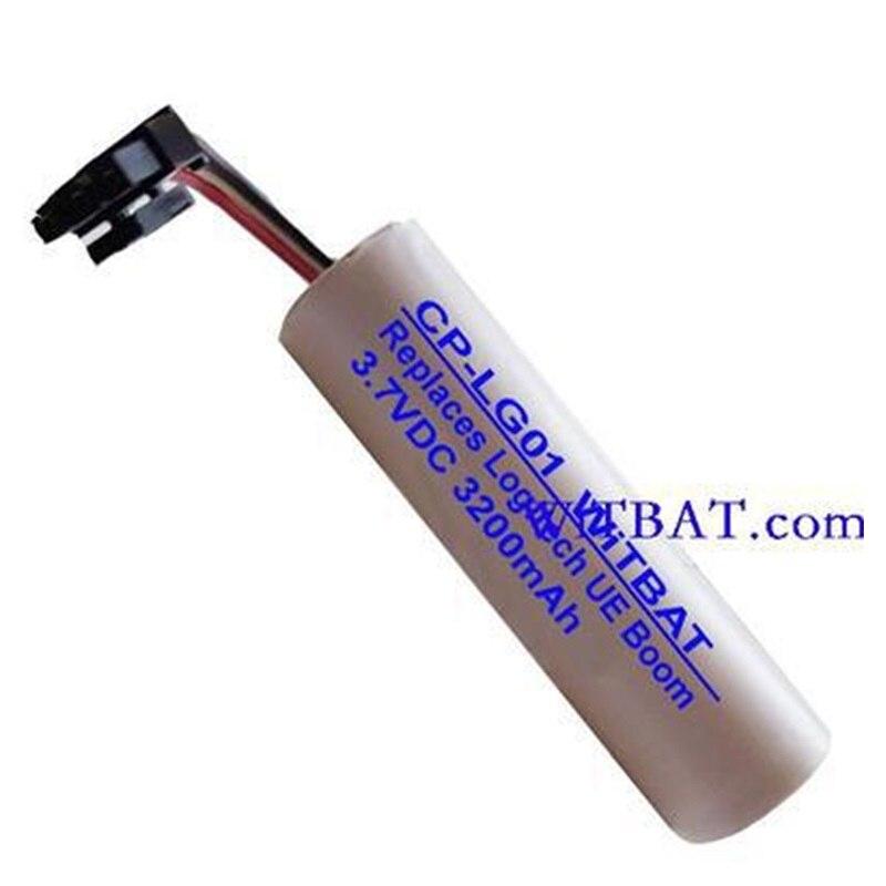 Batterie pour Logitech UE BOOM Haut-Parleur UE BOOM 2 Lecteur Bateria Li-Ion Lithium Rechargeable Accumulateur Remplacement 3.7 v 3200 mah