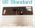US English Version Keyboard for Dell Inspiron 17 7000 7737 17-7737 P24E Laptop with Backlit Frame Silver