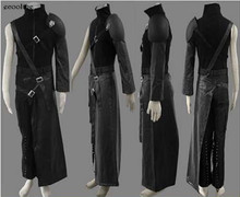 Anime Final Fantasy VII 7 Advent Children Cloud Strife Cosplay Costume Free Shipping