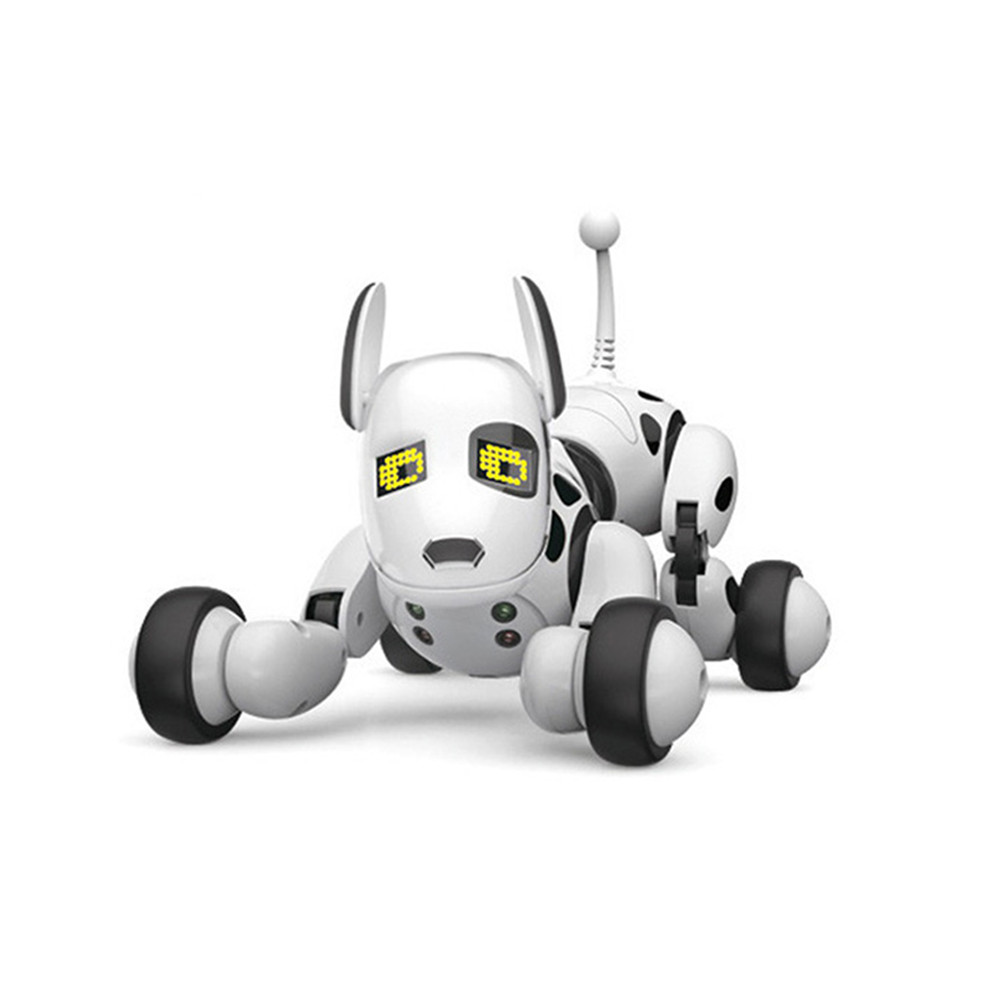 DIMEI Wireless Remote Control Smart Robot Dog Kids Toy Intelligent Talking  Robot Dog Toy Electronic Pet Birthday 2 4G like Zoomer