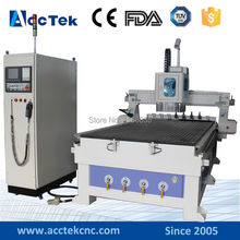 China 5×10 feet 1530 atc wood working cnc router,atc cnc router multi woodworking machine
