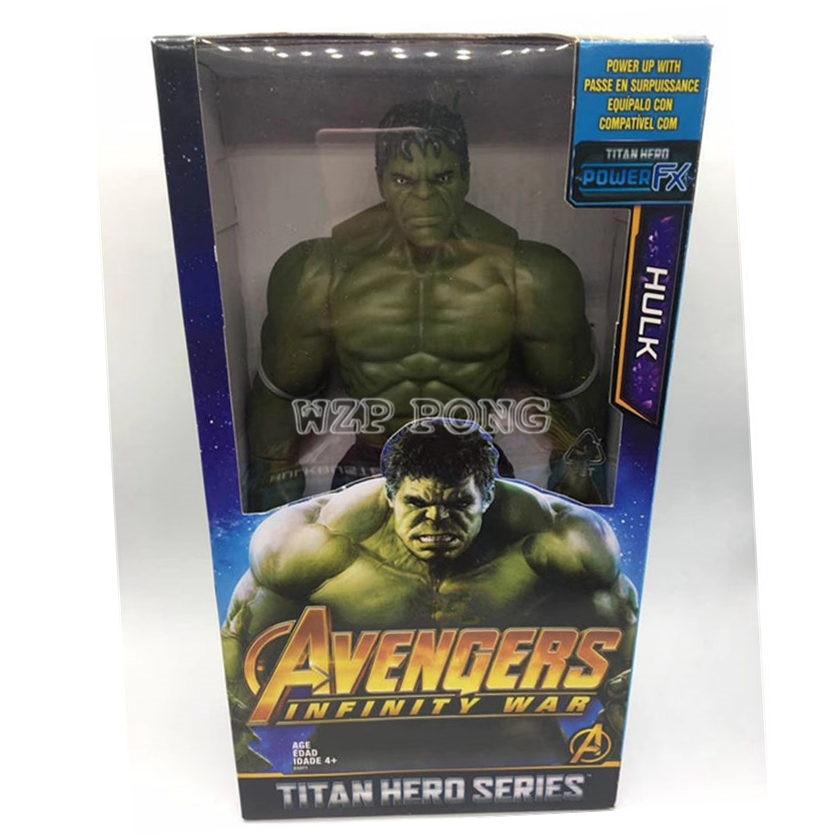 """Actionfiguren Marvel Avengers3 Infinity War 8 /""""Titan Hero Serie 21cm SHF Hulk"""