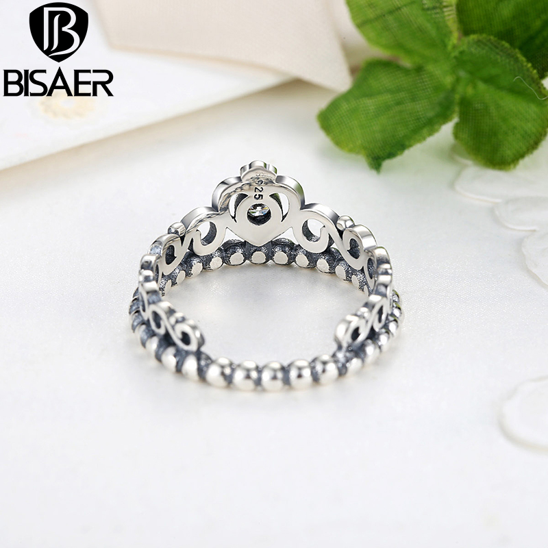 Authentic Wholesale Silver My Princess Queen Crown Ring Design