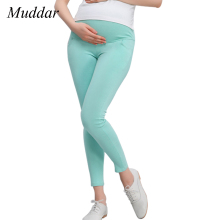 Maternity Leggings Pregnant Solid Cotton Pants Clothes Women High Waist Adjustable Belt Modal Pregnancy Trousers Spring&autumn(China)