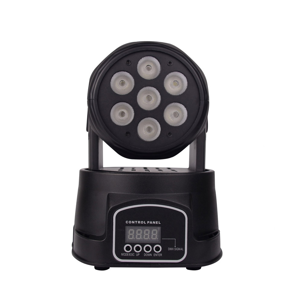 BETOPPER DMX512 Par LED Moving Head Stage Lighting Effect 8W RGBW Dj Disco Light Wedding Party Christmas Projector Stage Light new 30w spot gobo moving head light dmx controller led stage lighting disco dj wedding christmas decorations stage light par led