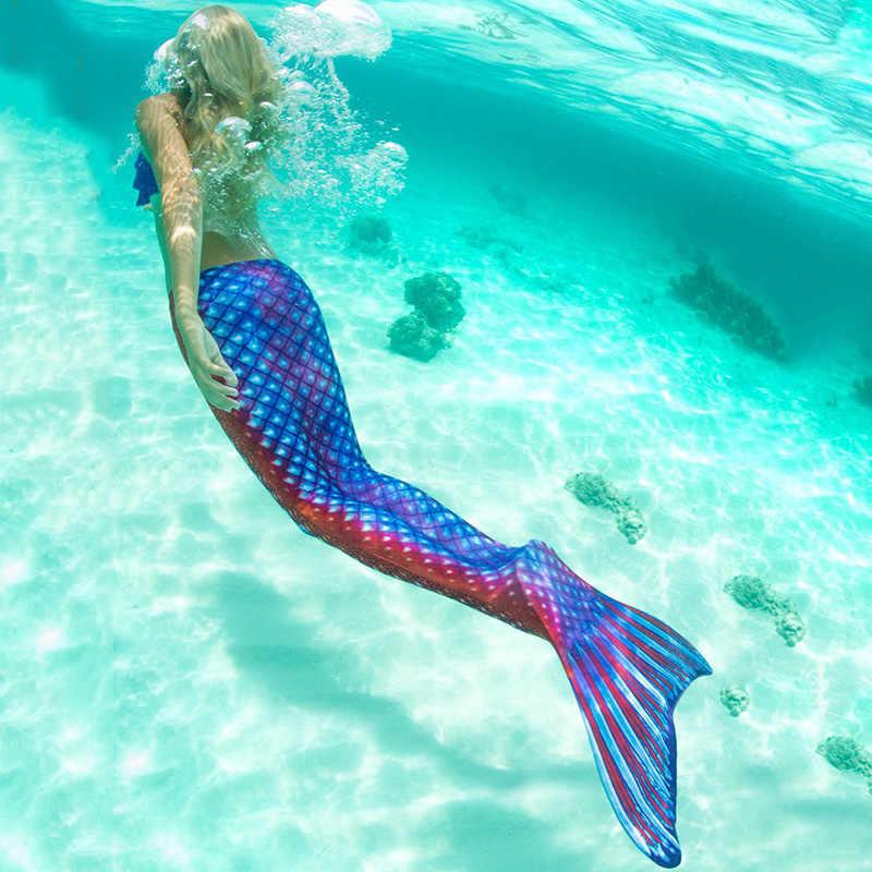 Женский купальный костюм с хвостом русалки для взрослых и девочек, вечерние купальные костюмы с хвостами русалки, купальный костюм Ариэль, без монофина, C28105CH