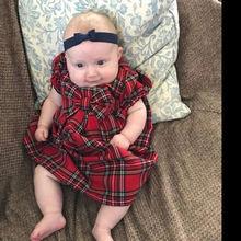 Princess Short Sleeve Dress Bowknot Tutu Dresses Summer