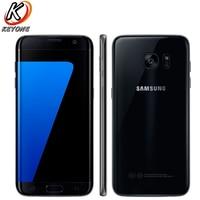 HK Vesion Samsung Galaxy S7 Edge G9350 4G Mobile Phone 5 5 Quad Core 4GB RAM