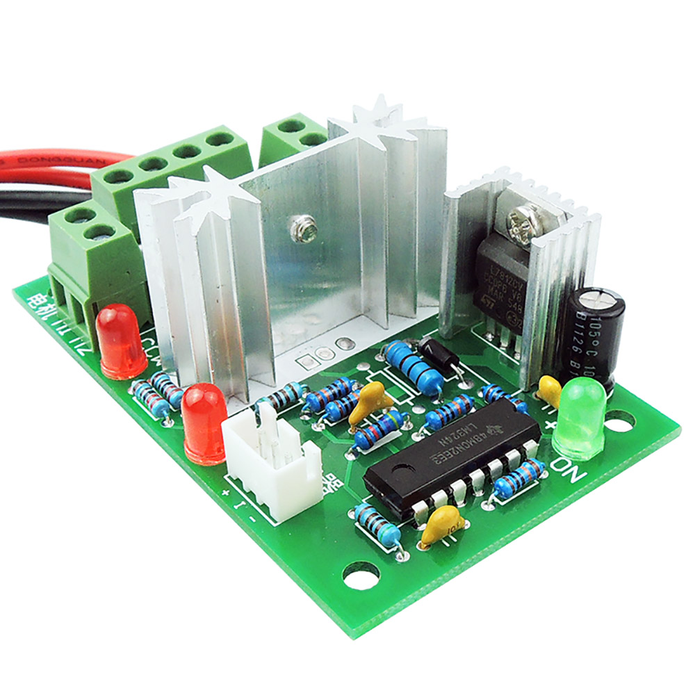 12v 24v 30v Dc Motor Speed Controller Reversible Pwm Control Forward Circuit With Explanation Electronic Reverse Switch Width Modulation Regulator In From Home