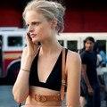ARNÉS sexy mujeres, roca oscura calle correa body harness cool collar alrededor del cuello ajustable hebillas cinturones de cintura