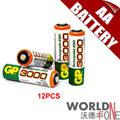 GP 3000 мАч AA Батареи 1.2 В Ni-Mh Аккумулятор для Игрушек/СВЕТОДИОДНЫЙ Фонарик 12 шт./лот