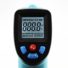 1 PC New -50~550 C Digital infrared Thermometer Pyrometer Aquarium laser Thermometer Outdoor thermometer X13