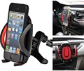 Ajustável universal air vent phone holder para o carro para o iphone 5S 6 6 s 7 xiaomi samsung styling car cradle suporte gps montar