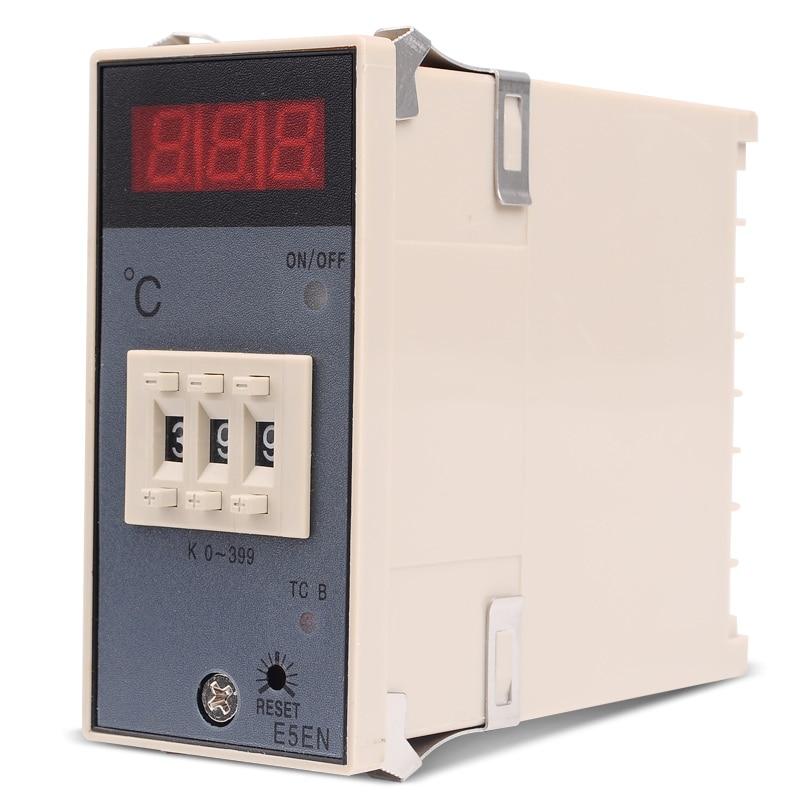 Függőleges BE / KI Digitális hőmérsékletszabályozó E5EN - Mérőműszerek - Fénykép 3