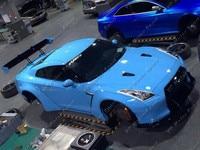 Автомобильные аксессуары углеродного волокна фунтов P Ver.1 Стиль задний спойлер, пригодный для 2008 2015 R35 GTR CBA DBA Trunk GT Крыло