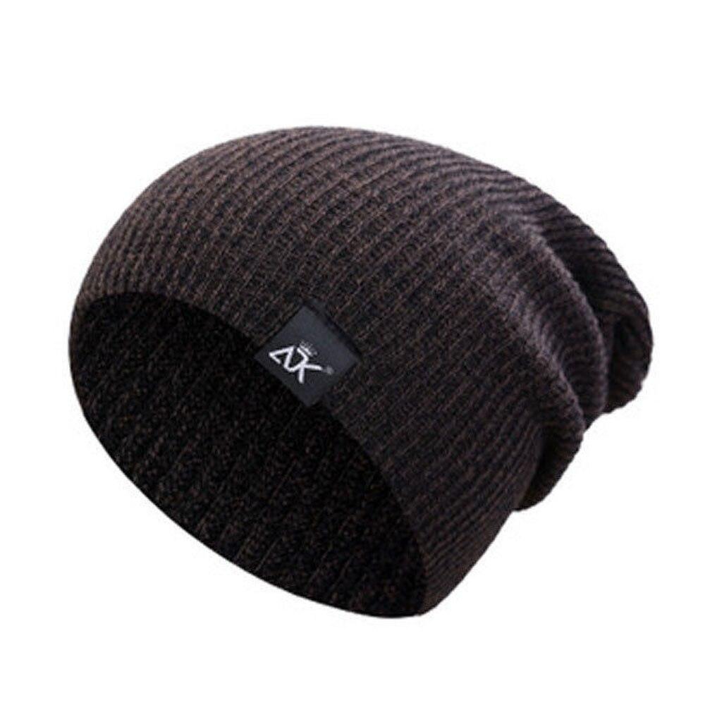 Bonnets laine Chapeaux D'hiver Ski Sports Tricot Unisexe 7