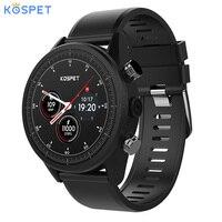 Kospet надеюсь Android7.1 Smartwatch 3 GB + 32 Гб двойной 4G 1,39 AMOLED WI FI/gps/8.0MP Sim IP67 Водонепроницаемый MT6739 Смарт часы телефон