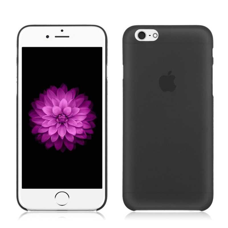 Черный, белый цвет матовый чехол для iphone X 7 8 крышка Капа Пластик Телефон Shell задняя принципиально для iphone 4 4s 5 5s 5se 6 6s 6 plus