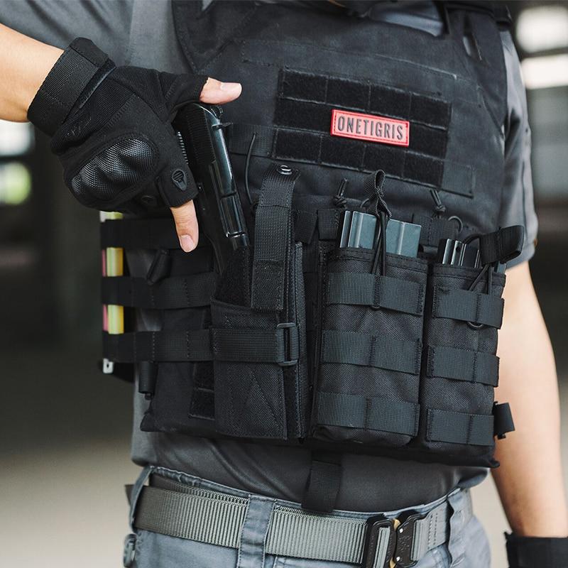 Onetigris Tactical Compact Pistol Holster Molle Gun