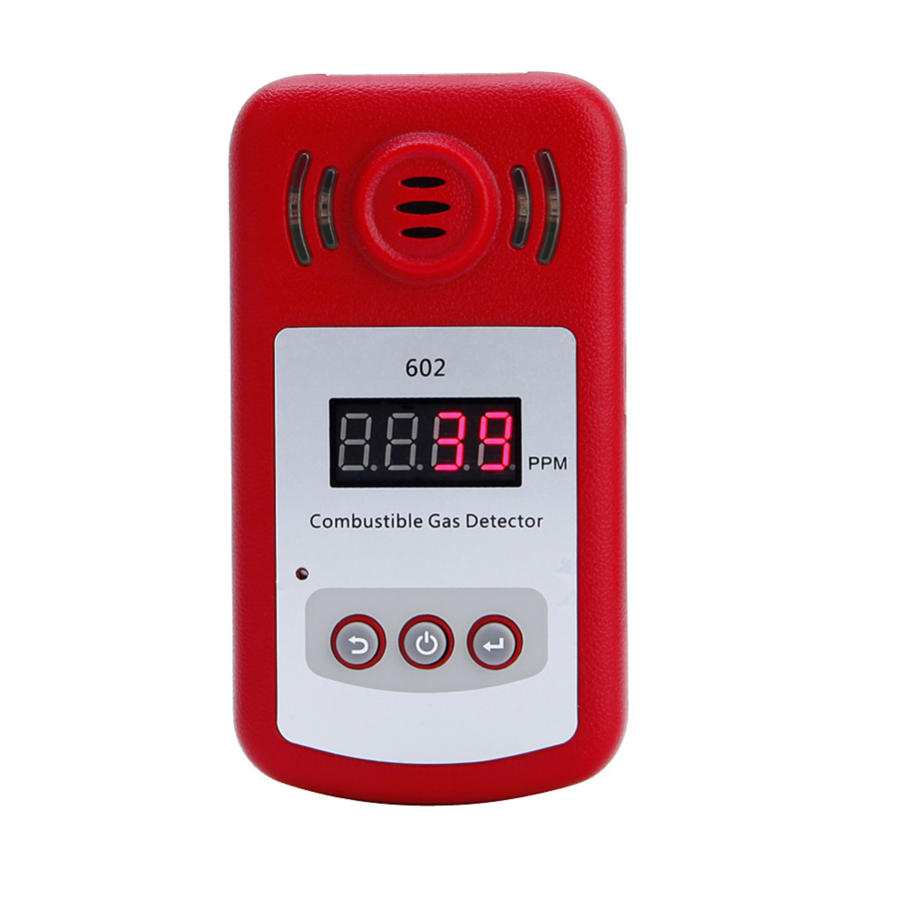 Mini LCD Digital Gas Leak Tester With Sound And Light Alarm Combustible Gas Concentration Detector Gas Analyzers