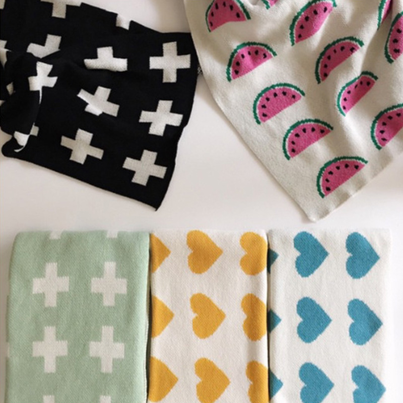 <font><b>Baby</b></font> Cotton Knitted <font><b>Blanket</b></font> Cobertores Mantas Swaddle Cute Plaid Spread Bath Towels Play Mat Gift Sofa Bed Stroller <font><b>Blanket</b></font>