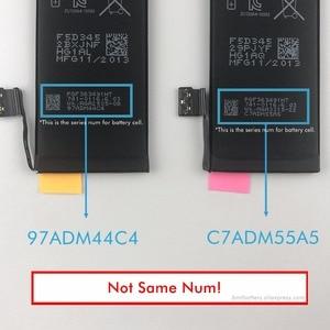 Image 3 - Оригинальный аккумулятор BMT Foxcon 10 шт./лот, для iPhone 1560, 0 циклов, мАч, оригинальные, 0 циклов, запасные части 2013 г.