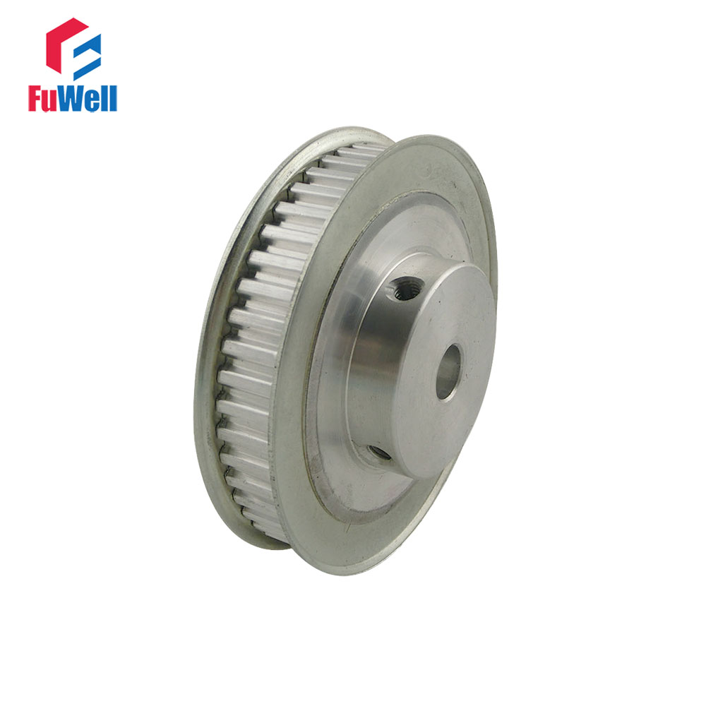 XL Type 48T Timing Pulley 8/10/12mm Inner Bore 5.08mm Pitch 11mm Belt Width Aluminum Alloy 48Teeth Timing Belt Pulleys